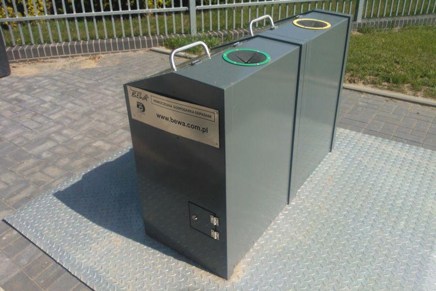 zlocieniec kontenery na odpady polbins